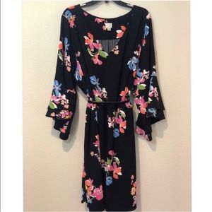 Plus Size A New Day Floral Bell Sleeve Dress - 4X